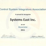 Control System Integrators Association – Associate 2001